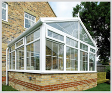 full view diy gable end conservatory